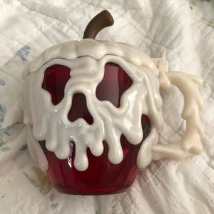 Disney World glow in the dark poison apple stein